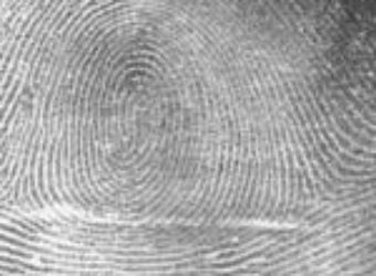 First Fingerprint Used