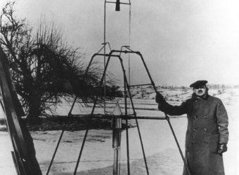 Robert Goddard and the liquid fueled rocket