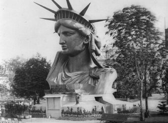 Head of the Statue of Liberty: Paris World's Fair, 1878